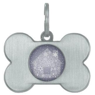 Snowflake the house pet tag