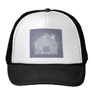 Snowflake the house trucker hat
