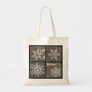 Snowflake Tote