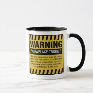 Snowflake Trigger Warning Mug