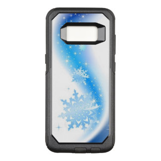Snowflake Wave OtterBox Commuter Samsung Galaxy S8 Case