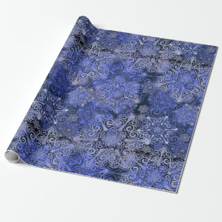 Snowflake Winter Sparkle Wrapping Paper