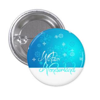Snowflake Winter Wonderland Pin