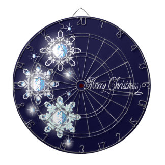 snowflake with diamonds_1 dartboard