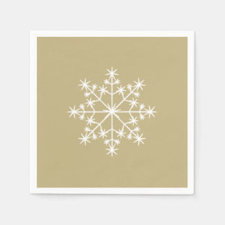 Snowflake Xmas Sand Holiday Christmas Disposable Napkin