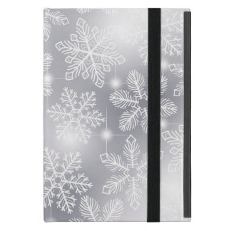 Snowflakes and lights cover for iPad mini