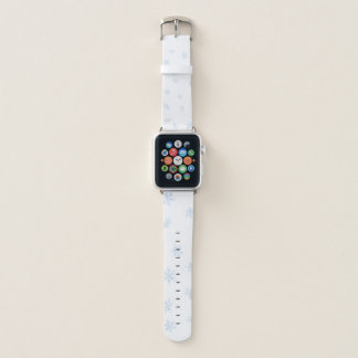 Snowflakes Apple Watch Band