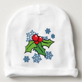 Snowflakes Baby Beanie