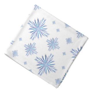 Snowflakes Bandana
