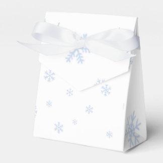 Snowflakes bokes favor box