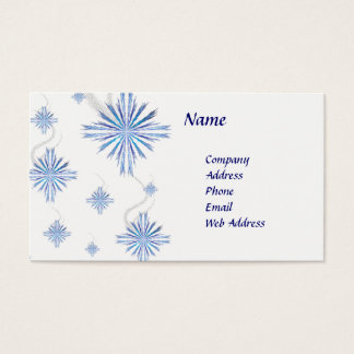 Snowflakes Business Card