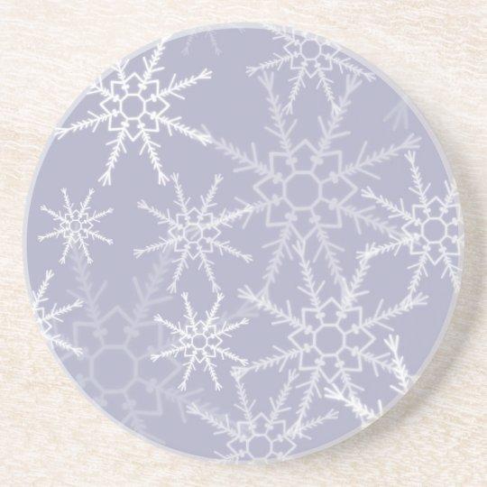 Snowflakes Coaster