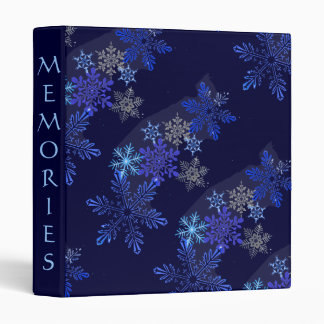 Snowflakes Design Binder