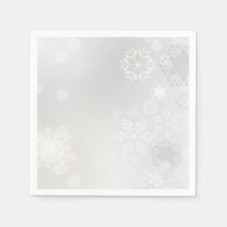 Snowflakes Disposable Napkins