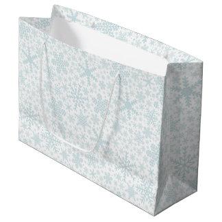 Snowflakes | Holiday Gift Bag