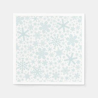 Snowflakes | Holiday Napkins Disposable Napkin