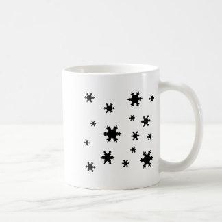 snowflakes icon mugs