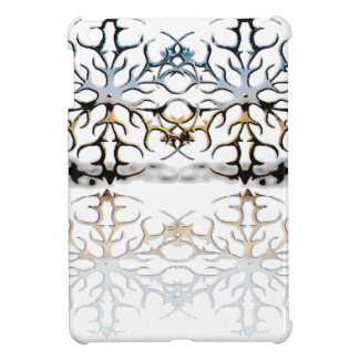 snowflakes iPad mini covers