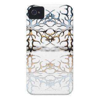 snowflakes iPhone 4 case