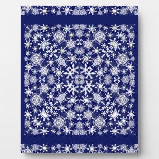 Snowflakes Lace Plaque