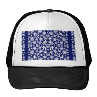 Snowflakes Lace Trucker Hat