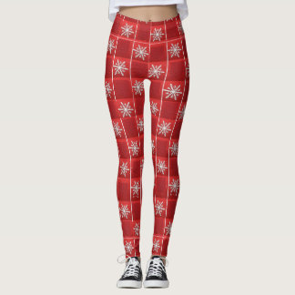 Snowflakes Leggings