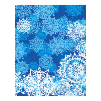 Snowflakes Letterhead