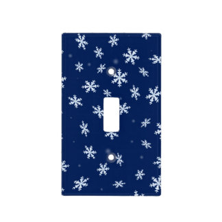 Snowflakes Light Switch Cover