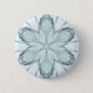 Snowflakes of blue 2 inch round button