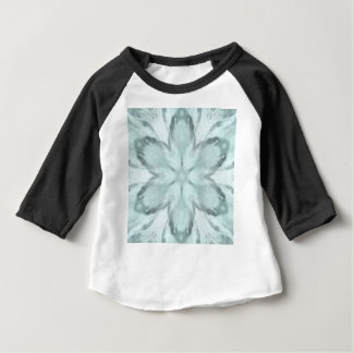 Snowflakes of blue baby T-Shirt