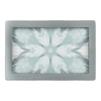 Snowflakes of blue belt buckles