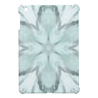 Snowflakes of blue case for the iPad mini