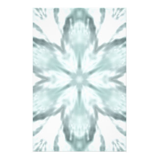 Snowflakes of blue stationery