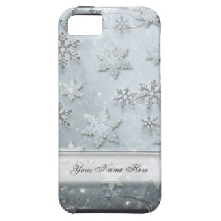 Snowflakes on Ice Case For The iPhone 5