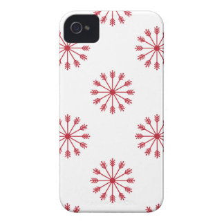 Snowflakes pattern Case-Mate iPhone 4 cases