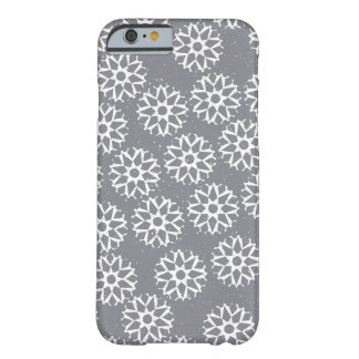 Snowflakes pattern - Christmas gifts Barely There iPhone 6 Case