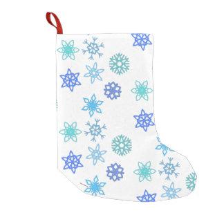Snowflakes Pattern Holiday Christmas Stocking