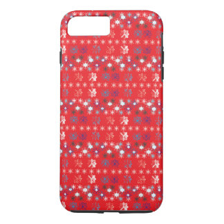 Snowflakes pattern IV iPhone 7 Plus Case