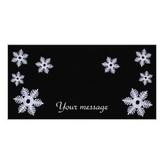 Snowflakes~photo Card