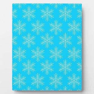 Snowflakes Plaque