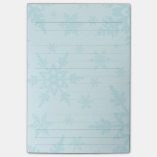 Snowflakes Post-it Notes