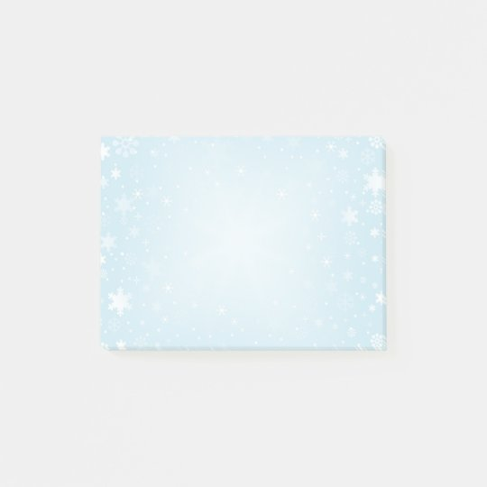 Snowflakes Post-it® Notes