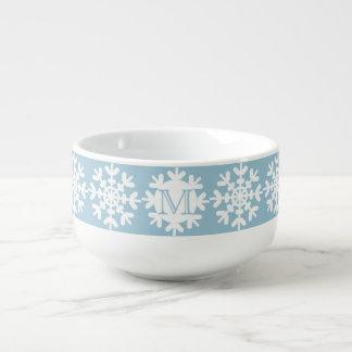 Snowflakes Soup Mug