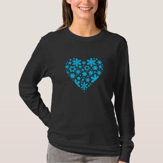 snowflakes stars heart T-Shirt