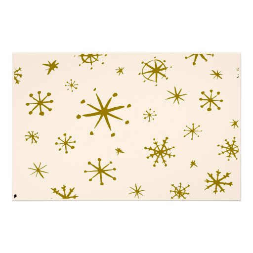 Snowflakes Stationary Stationery