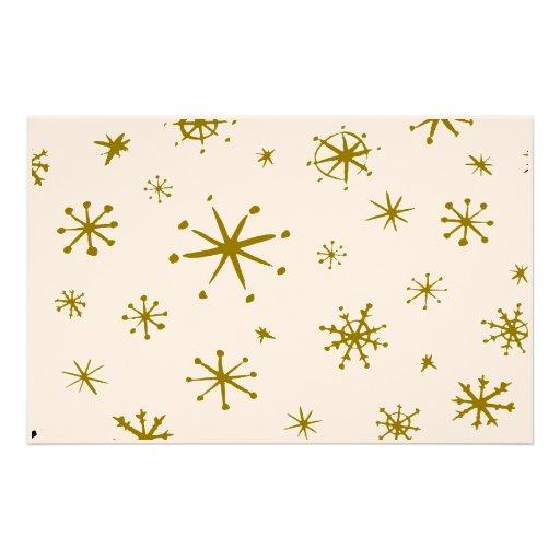 Snowflakes Stationary Stationery