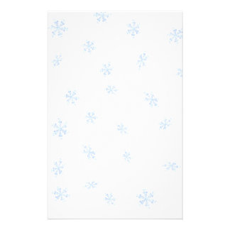 Snowflakes Stationery