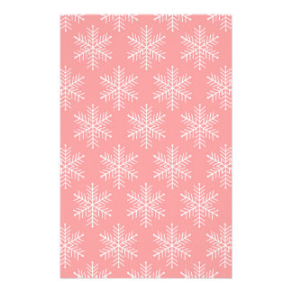 Snowflakes Stationery Paper