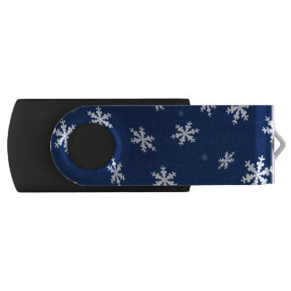 Snowflakes USB Flash Drive