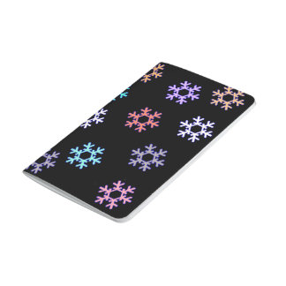 Snowflakes Warm Winter Pocket Book / Notebook